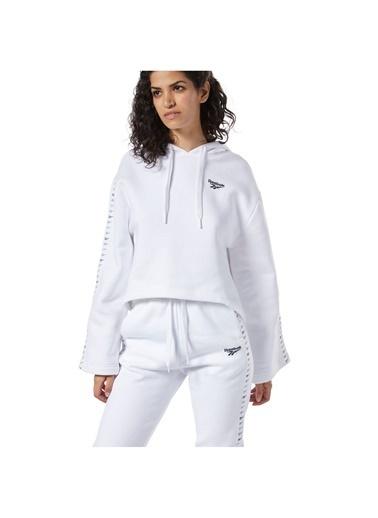 Reebok Cl V P Hoodie Kadın Sweatshirt Beyaz